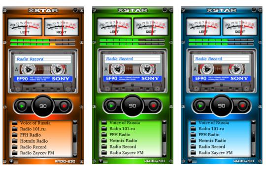XIRadio Gadget
