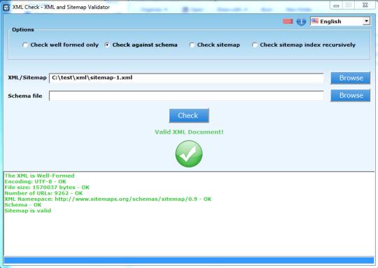 XML Check