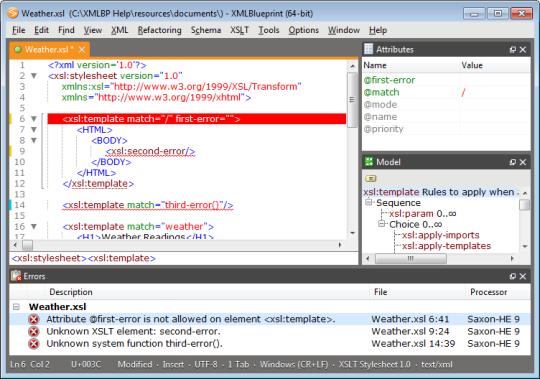 XMLBlueprint XML Editor