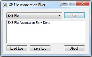 XP File Association Fixer