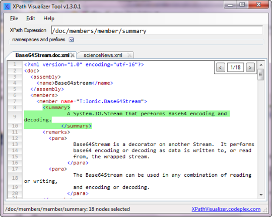 XPath Visualizer Portable