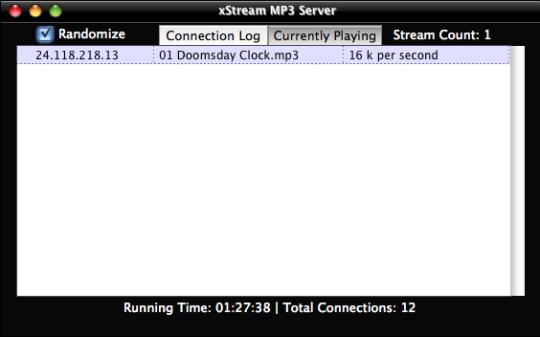 xStream MP3 Server