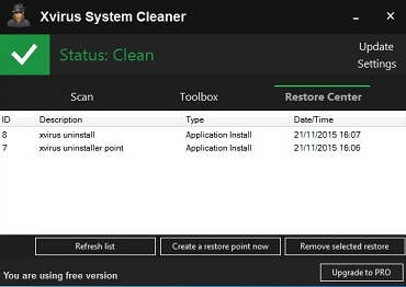 Xvirus System Cleaner