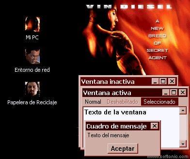 xXx: Vin Diesel Desktop Theme