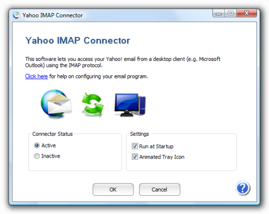 Yahoo IMAP Connector