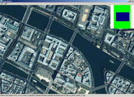 Yahoo Satellite Maps Downloader