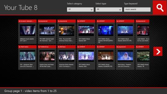 Your Tube 8 for Windows 8