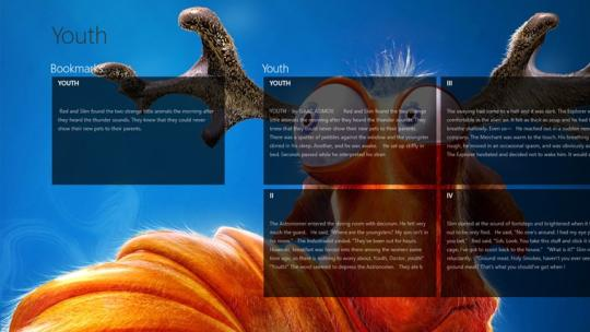 Youth by Isaac Asimov for Windows 8
