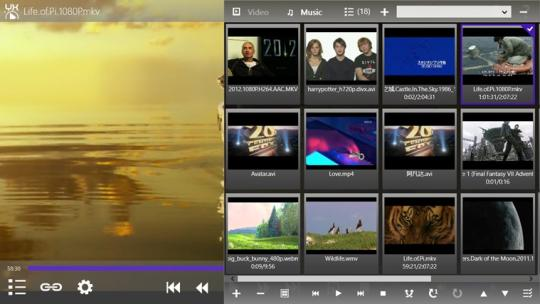 Yxplayer HD for Windows 8
