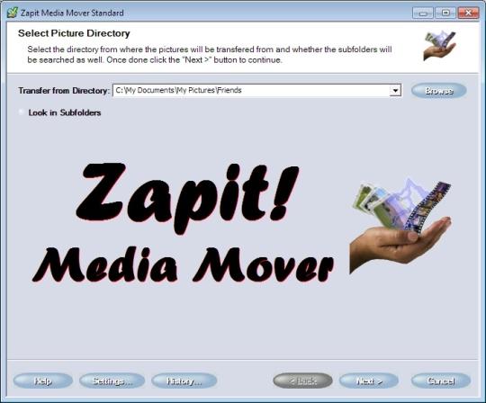 Zapit Media Mover Standard