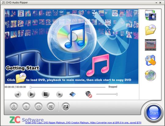 ZC DVD Audio Ripper