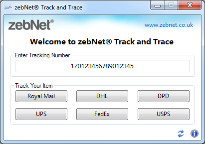 ZebNet Track and Trace
