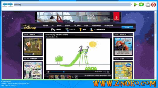 Zinoko Web Browser for Children