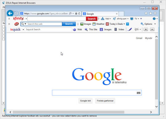 ZOLA Repair Internet Browsers